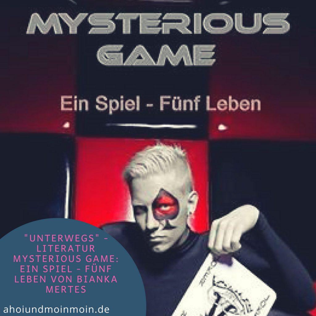 """Buch - Tipp """"Mysterious Game"""" von Bianka Mertes"""
